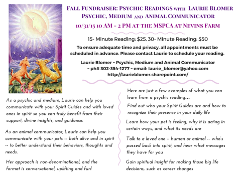 As a psychic and medium, Laurie can help